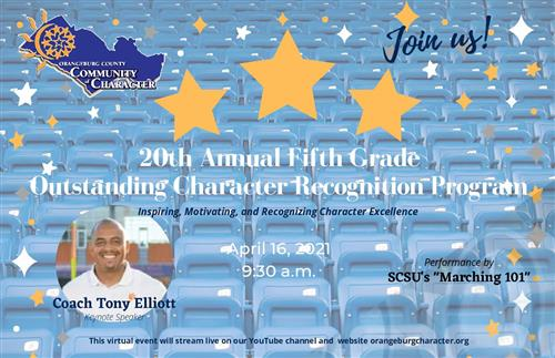 20th Annual Fifth Grade Outstanding Character Recognition Program